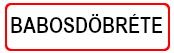 Babosdöbréte Község Önkormányzata